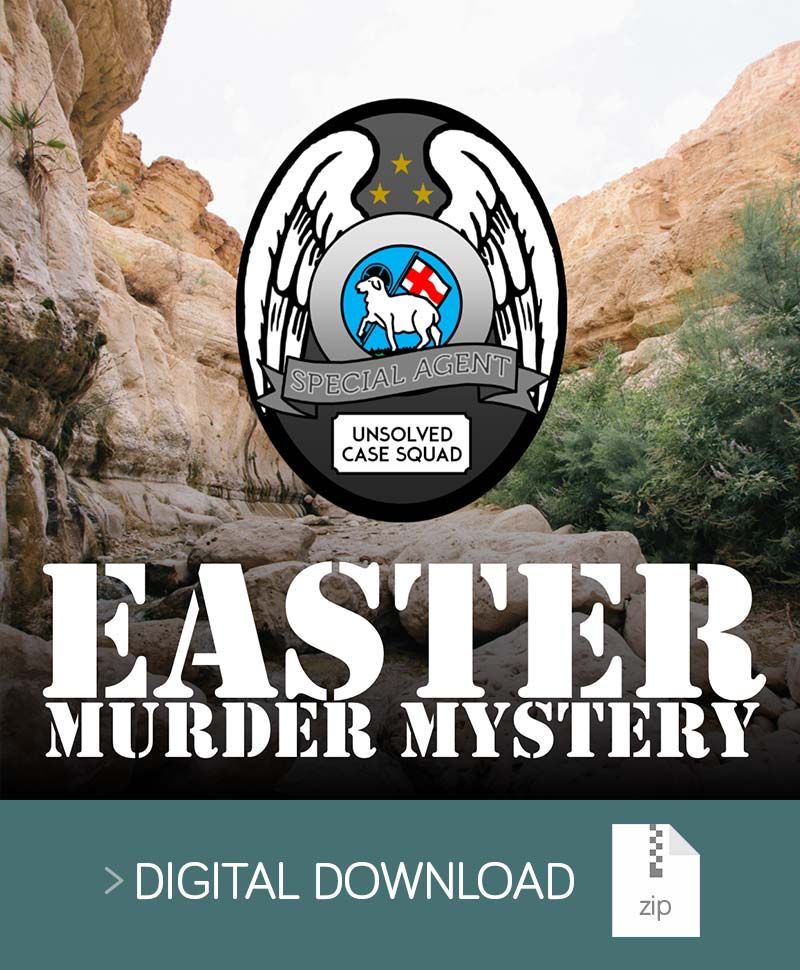 Easter Murder Mystery Event Resource Pack - United