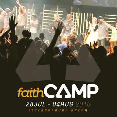 Faith Camp 2018 - BIG Event - Tuesday Evening - Colin Urquhart