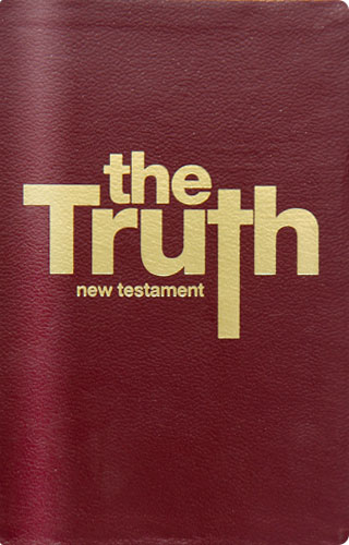 The Truth New Testament - Study Edition [Burgundy] - Colin Urquhart